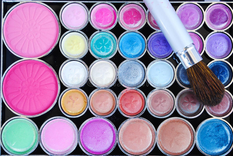 Download Makeup brushes stock image. Image of beauty, paint, accessories - 26763763