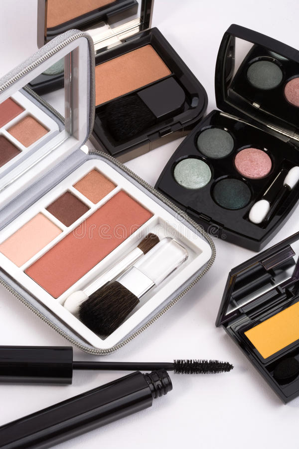 Makeup collection royalty free stock photos