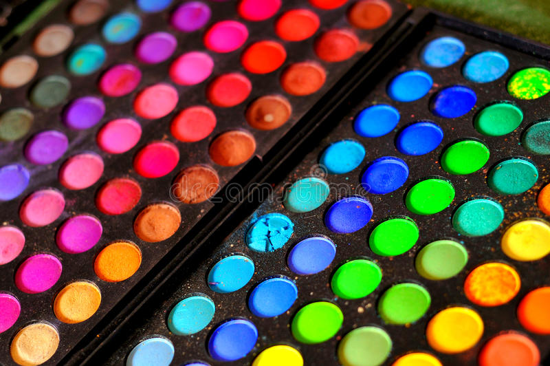 Download Makeup colours stock image. Image of colours, eyeshadow - 18813047