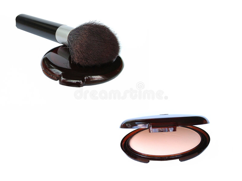 Makeup compact royalty free stock photos