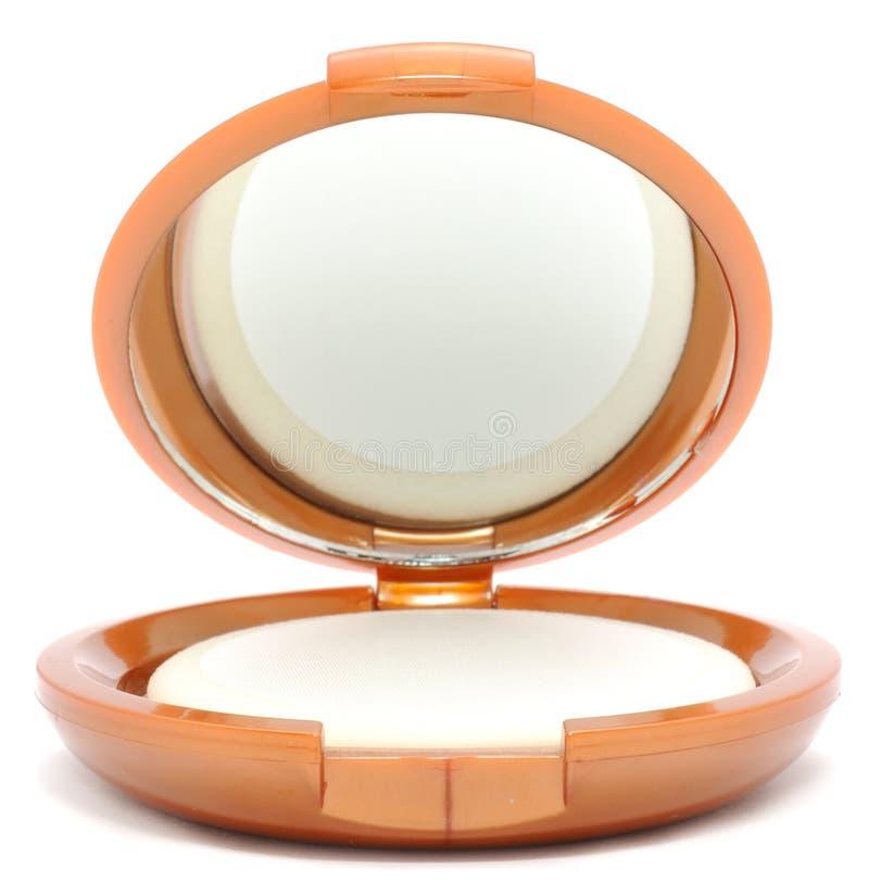 Makeup Compact Powder royalty free stock photography