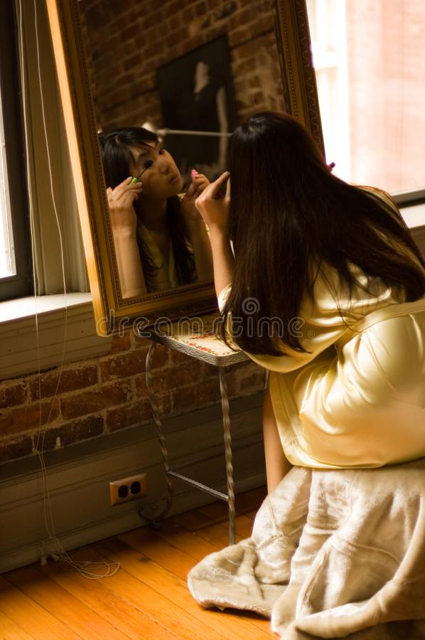 Download Makeup girl - eyes stock image. Image of asian, pretty - 2255955