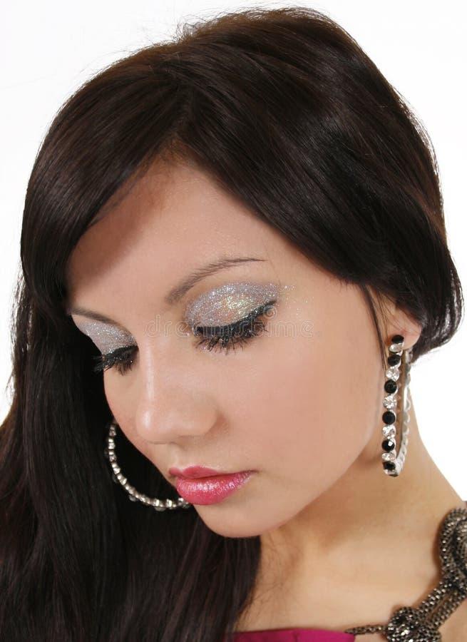 Download Makeup With Glitter Eyeshadow Stock Image - Image: 23420301