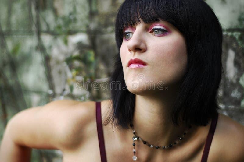 makeup menchie zdjęcia stock