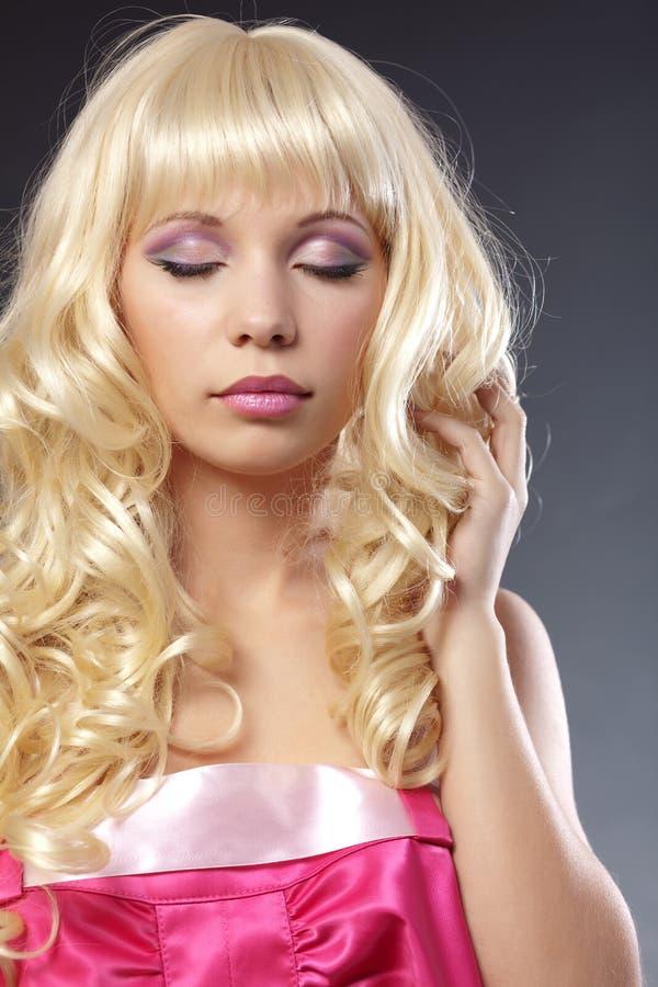 makeup menchie fotografia stock