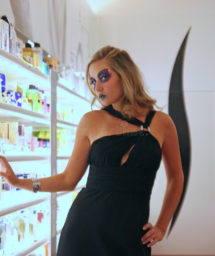 Download Makeup Model stock photo. Image of column, white, female - 2625992