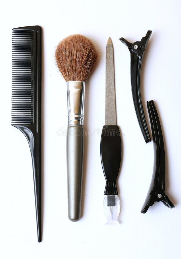 makeup narzędzia zdjęcie royalty free