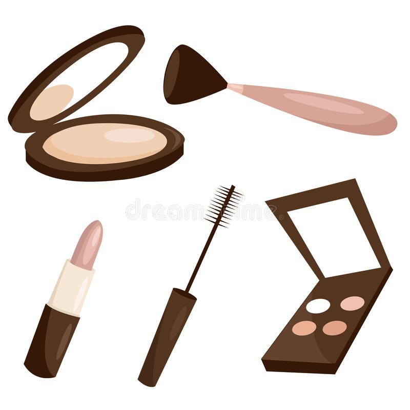 Makeup Objects Stock Images
