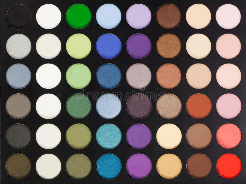 Download Makeup palette stock photo. Image of objects, make, collection - 23659774