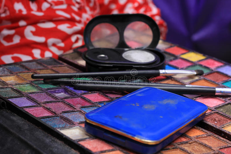 Download Makeup palette stock image. Image of up, fashion, multicolour - 30346569
