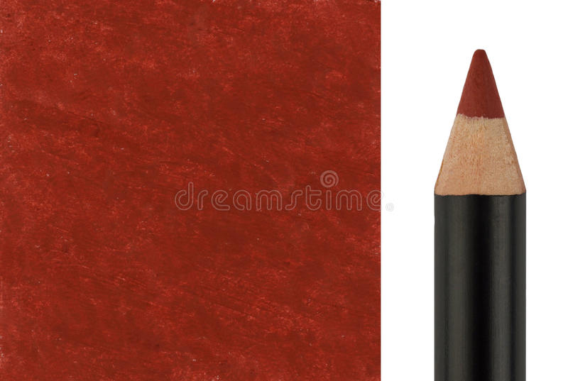 Download Makeup Pencil With Sample Stroke Stock Photo - Image: 31465034