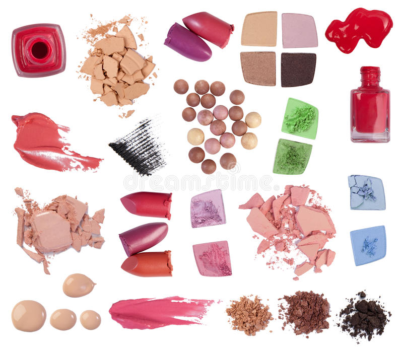 Makeup Products Royalty Free Stock Photo