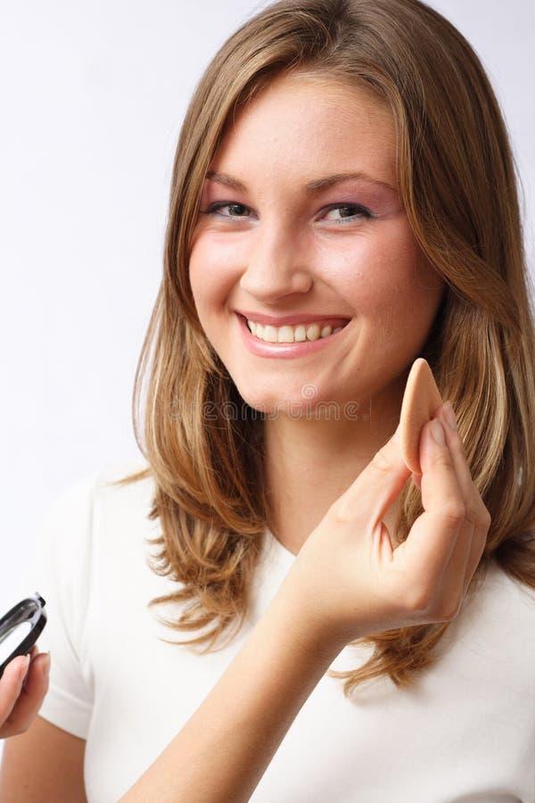 Makeup Przygotowania Bezpłatna Fotografia Stock