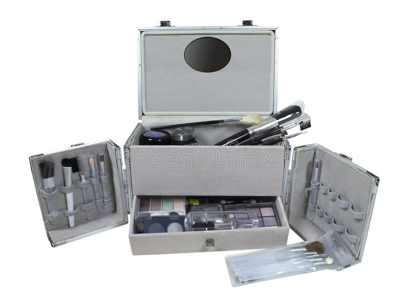 Makeup Train Case royalty free stock photography