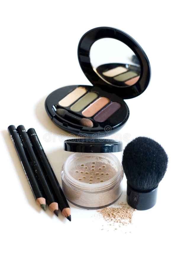 Download Makeup on white stock photo. Image of shadow, beautician - 6604242