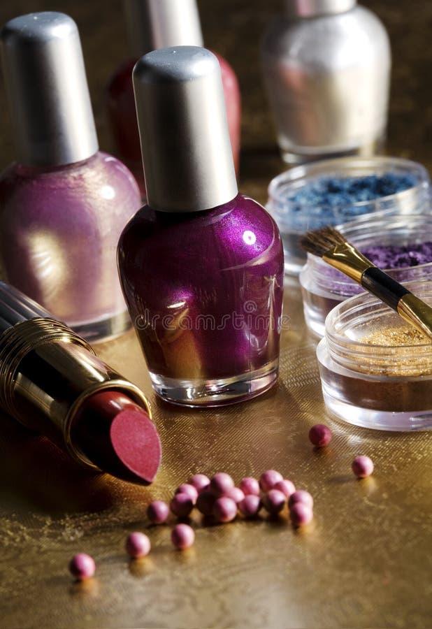 makeup wybór obraz stock