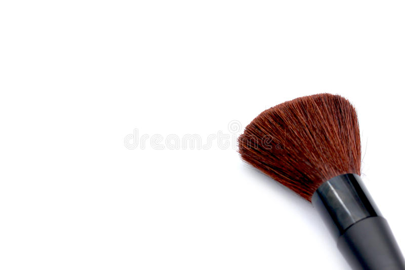 Makeupborste fotografering för bildbyråer