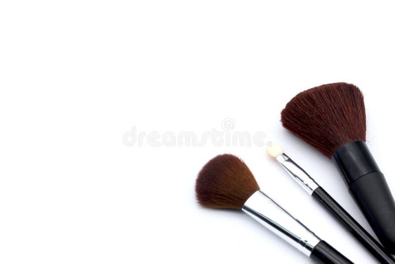 Makeupborste royaltyfri fotografi