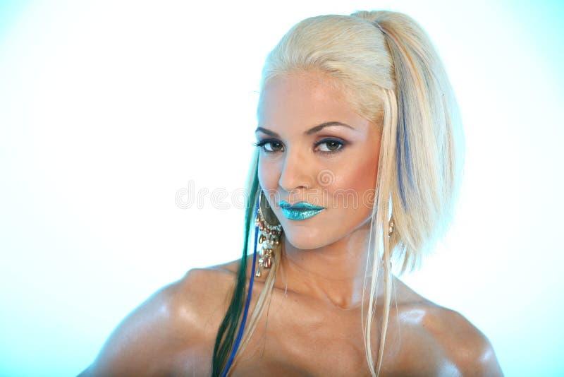makeupkvinna fotografering för bildbyråer