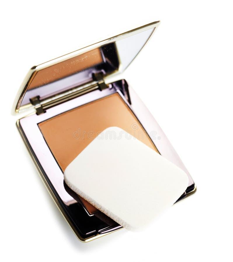 makeuppulver royaltyfri foto