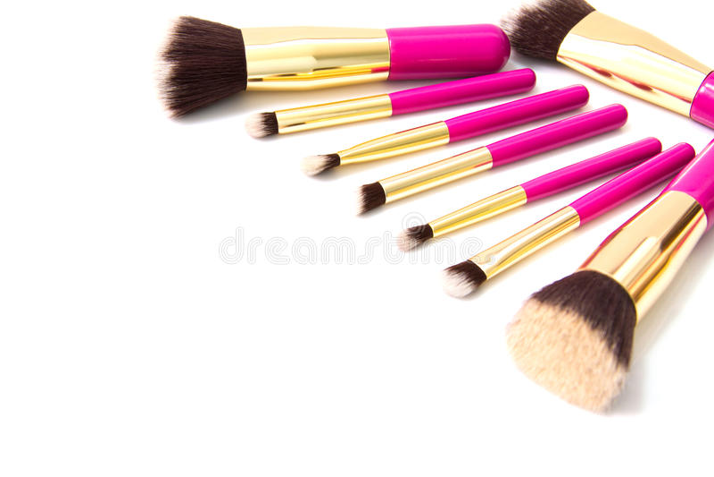 Makeuprodnad royaltyfri fotografi
