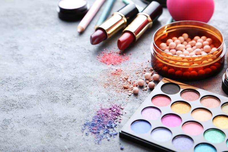 Makeupskönhetsmedel royaltyfri fotografi