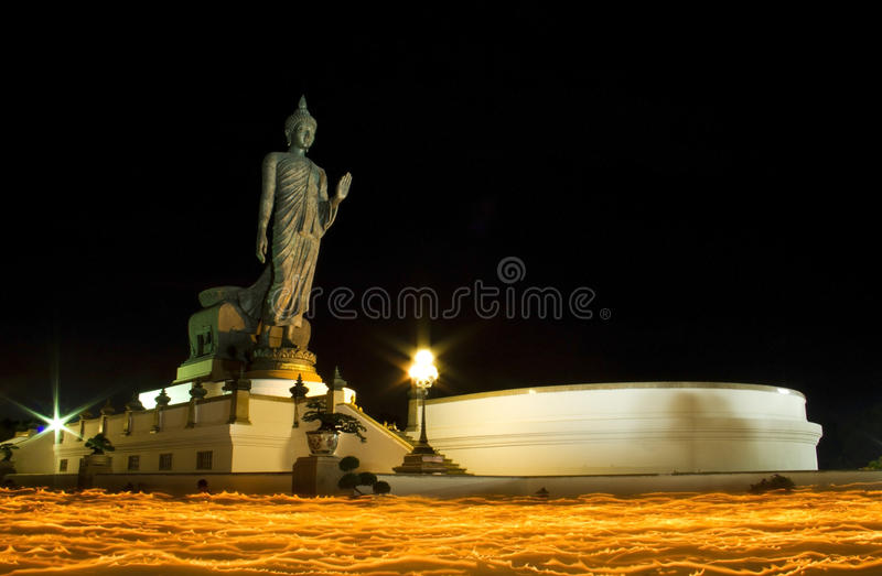 Download Makha Bucha Day In Thailand Stock Photo - Image: 23749830