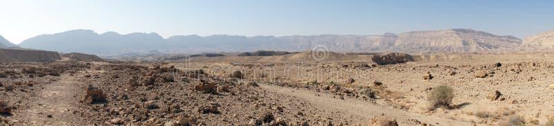 Makhtesh Katana, Izrael fotografia stock