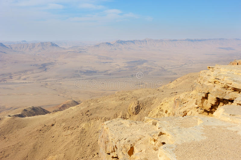 Download Makhtesh Ramon stock image. Image of travel, blue, makhtesh - 14402135