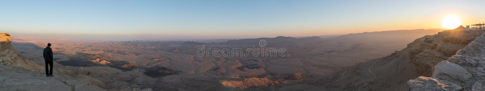 Makhtesh Ramon photo stock