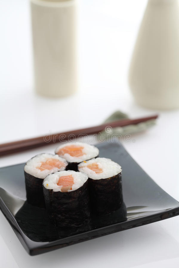 Download Maki Rolls stock image. Image of dinner, japanese, healthy - 25950633