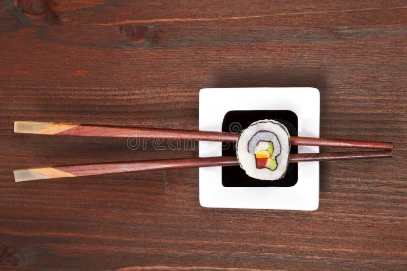 Maki Sushi. stockbilder