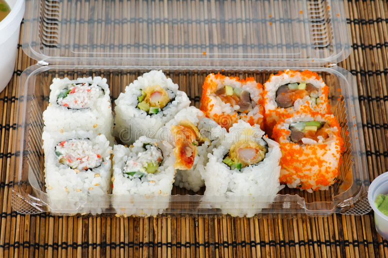 Download Maki Sushi stock photo. Image of pieces, gourmet, dinner - 23357056