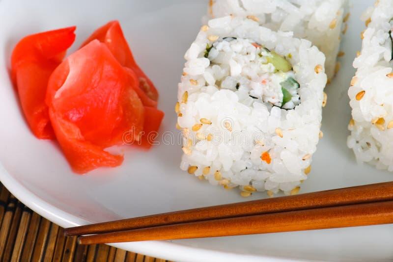 Download Maki Sushi stock photo. Image of detail, meal, oriental - 23357108