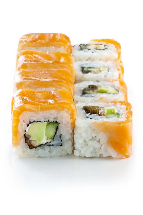 Download Maki Sushi - Roll stock photo. Image of dinner, cuisine - 22972262