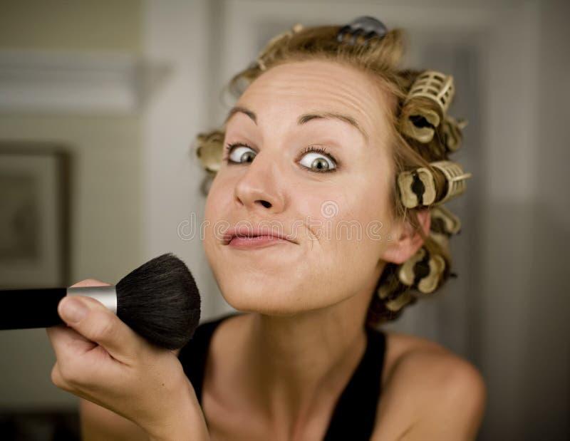 makijaż do kobiet obraz stock