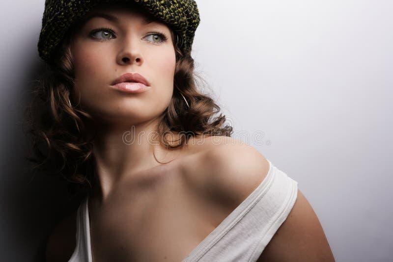 makijaż mody obraz royalty free