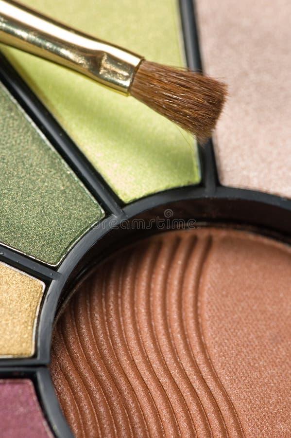 makijaż paleta obraz stock