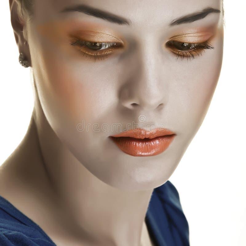makijaż retro fotografia stock