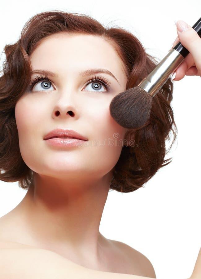 makijaż w kobieta obrazy stock