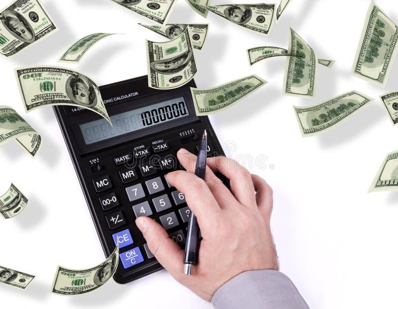 Makin Geld lizenzfreie stockbilder