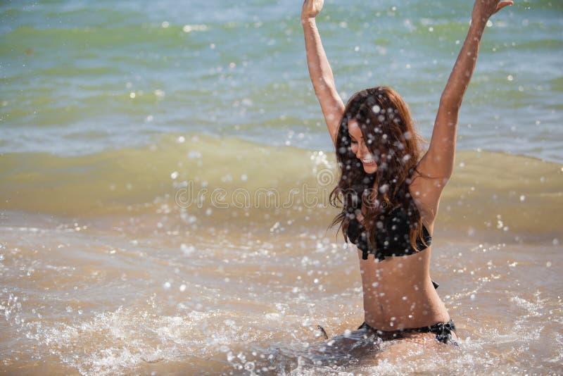 Making A Big Splash Of Fun! Royalty Free Stock Image