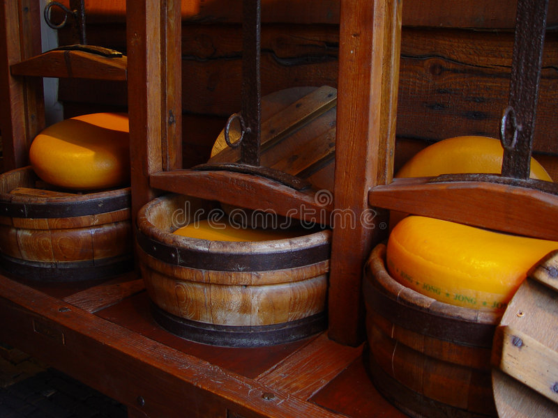 Download Making cheese stock image. Image of yellow, press, holland - 9871