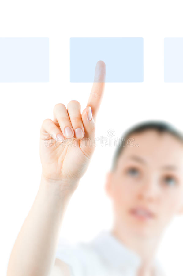Download Making choice stock image. Image of inspiration, hand - 10411817