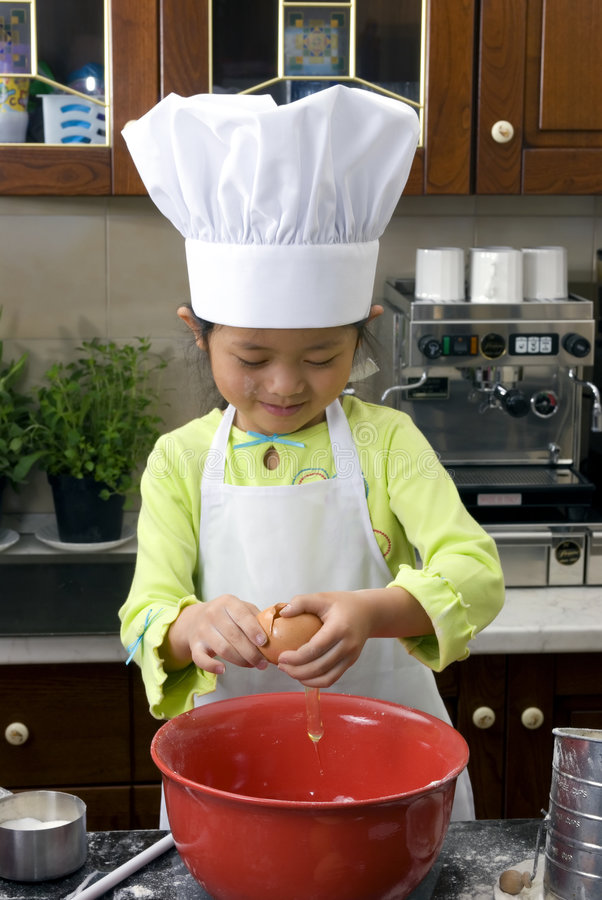 Download Making Cookies 006 stock image. Image of female, chinese - 2180423