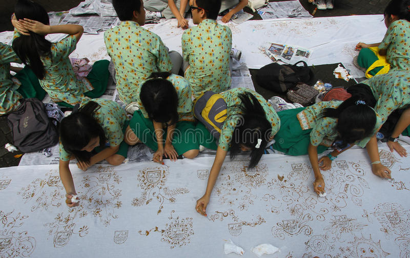 Download Making handmade batik mass editorial photography. Image of record - 34550422