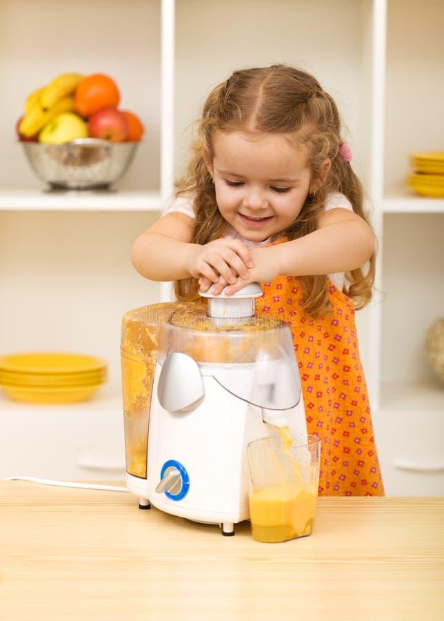 Making juice royalty free stock photo