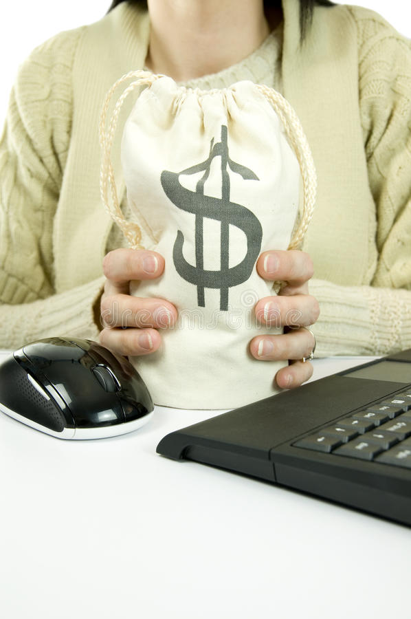 Download Making money stock image. Image of investment, computer - 23331487
