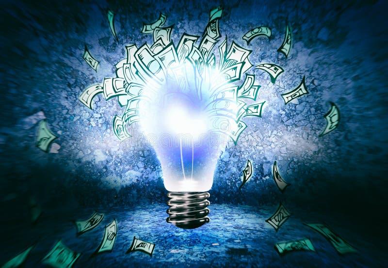 Making money stock image