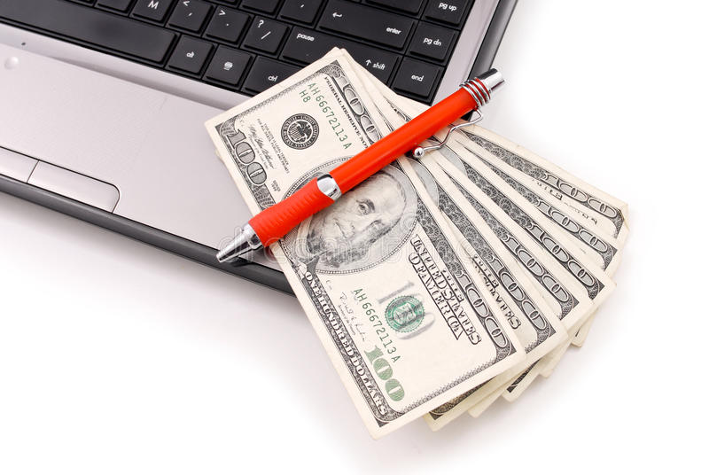 Download Making Money Online stock photo. Image of card, electronic - 22277432